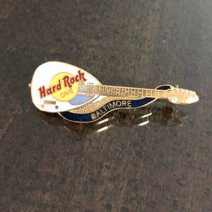 Hard Rock Cafe Baltimore Guitar pin - souvenir pin
